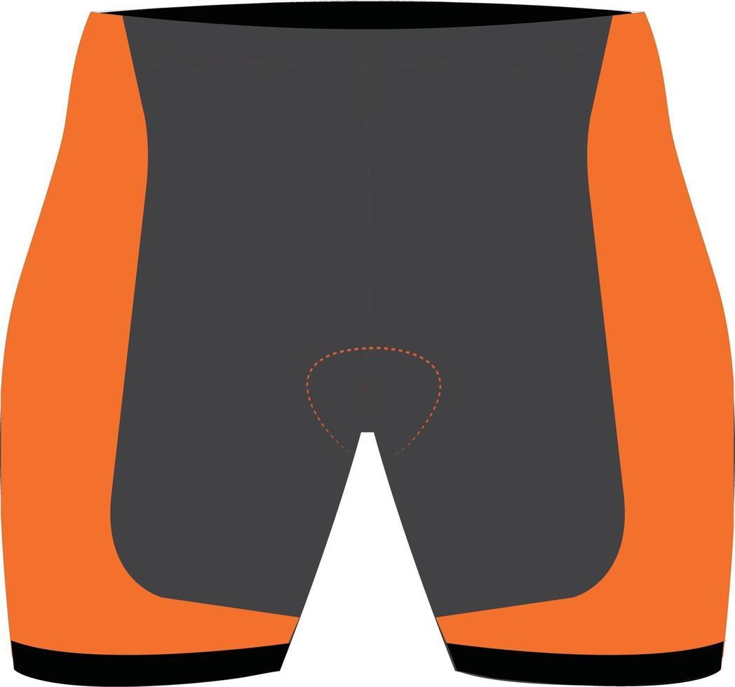 mock-ups met spanky shorts vector
