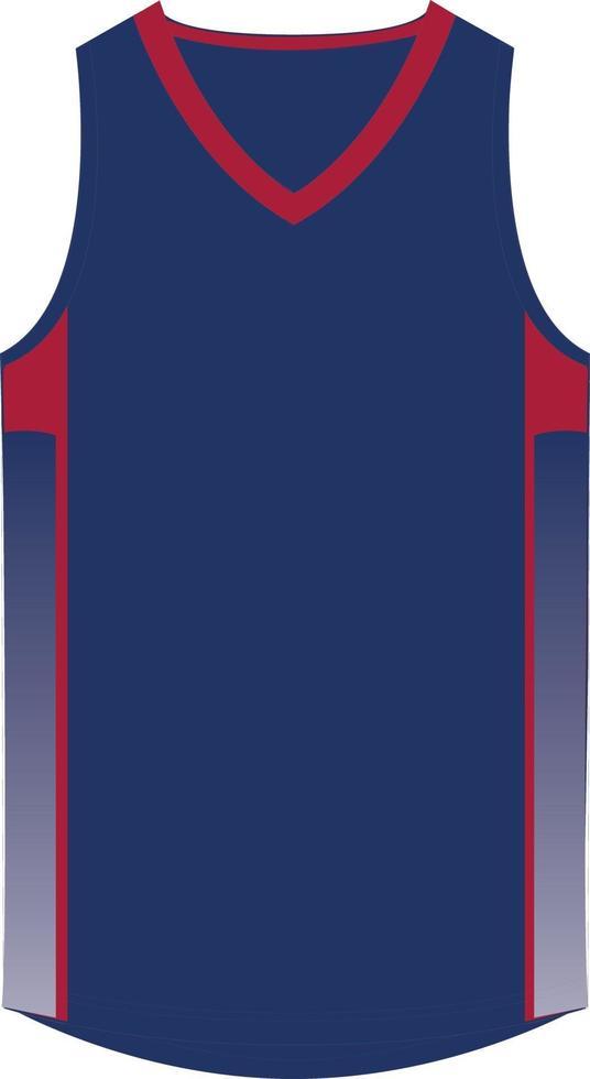 basketbal singlets ontwerpen mock-ups vector