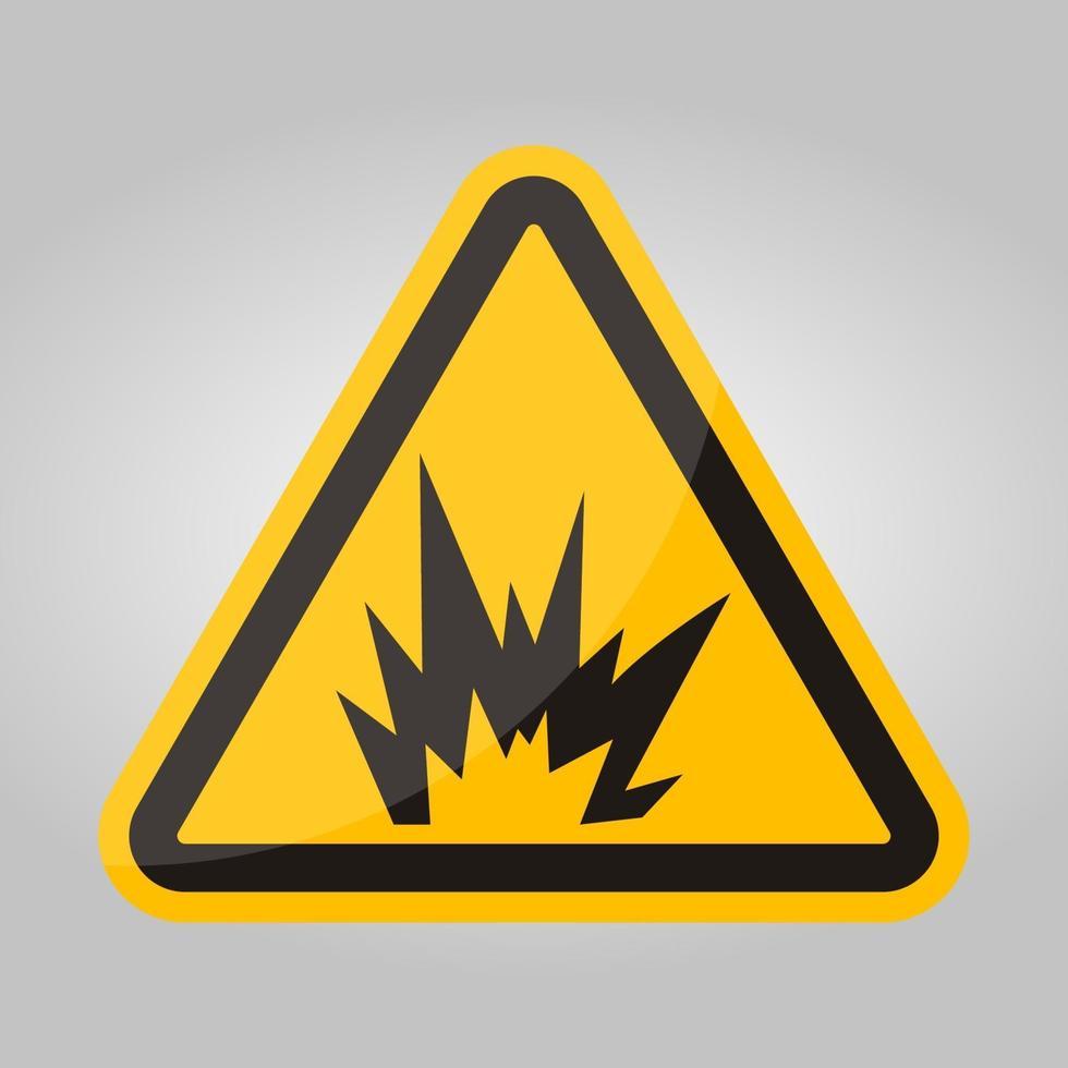boog flits gevaar symbool teken, vector illustratie, isoleren op witte achtergrond label .eps10