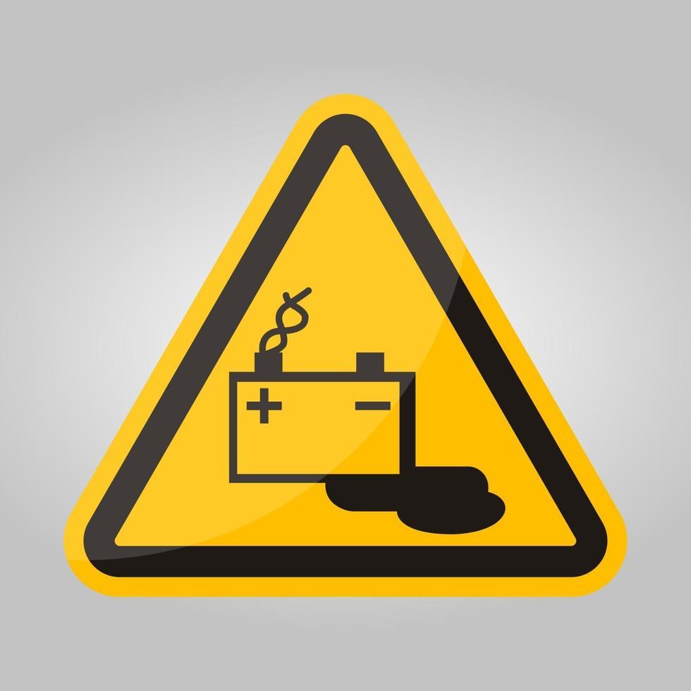 batterij opladen symbool teken isoleren op witte achtergrond, vector illustratie eps.10