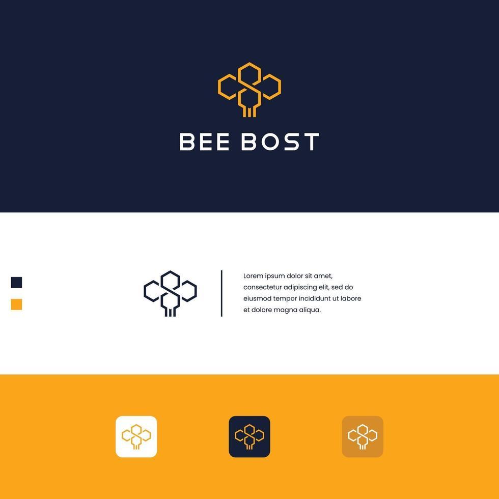 logo ontwerp bij vector
