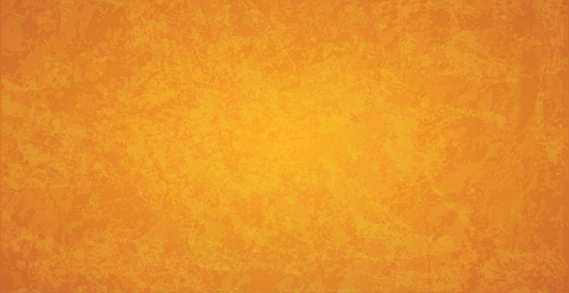 oranje abstract getextureerde grunge web achtergrond - vector