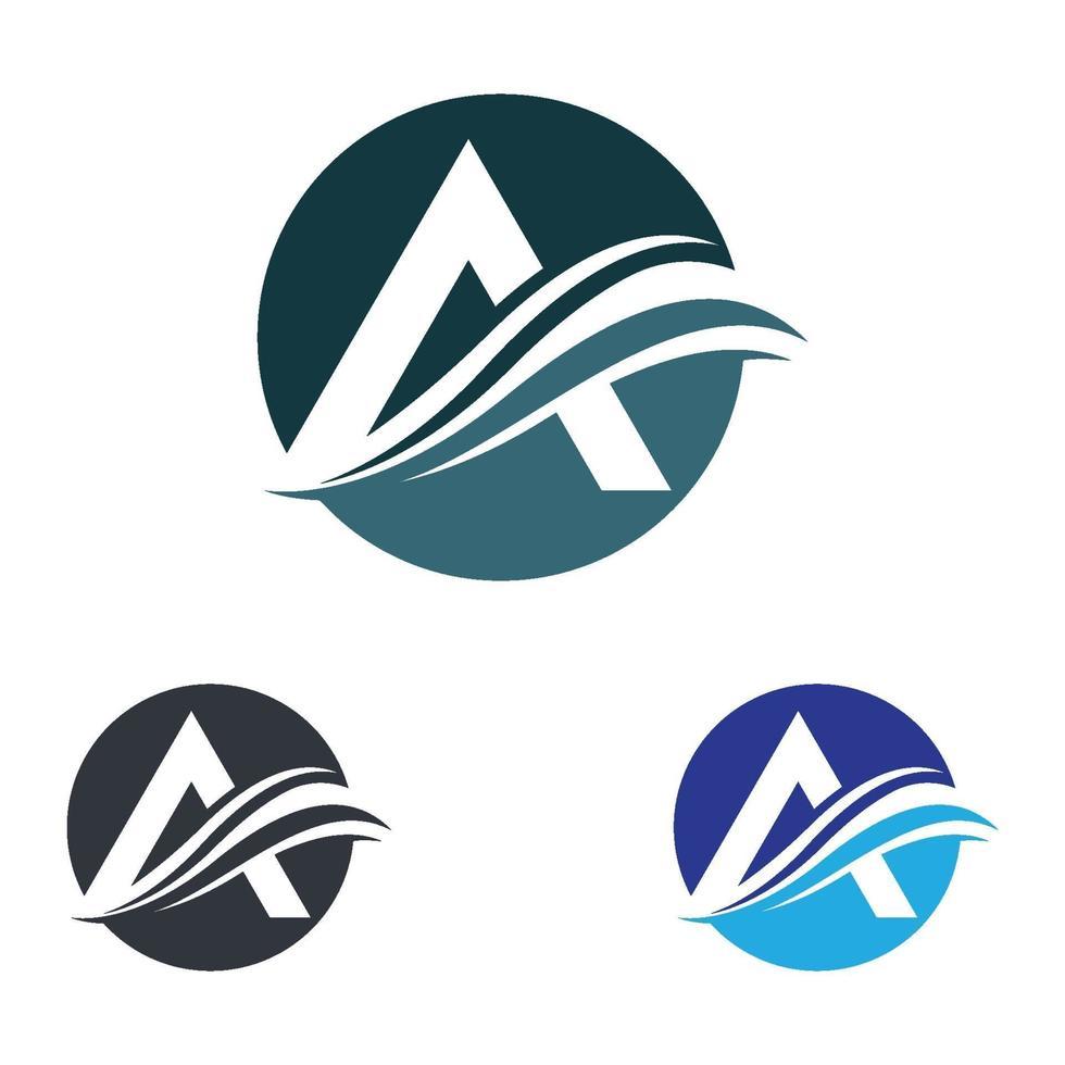 letter a logo afbeeldingen vector