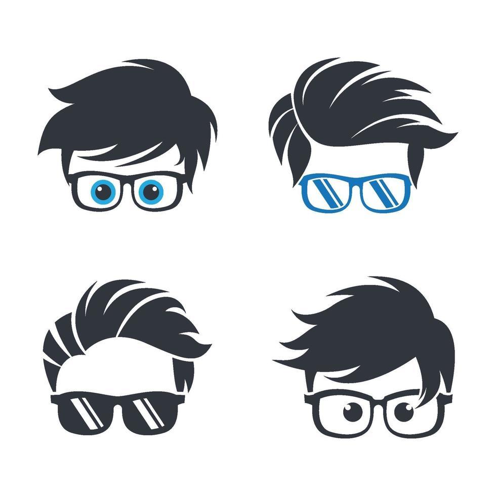 geek logo afbeeldingen vector