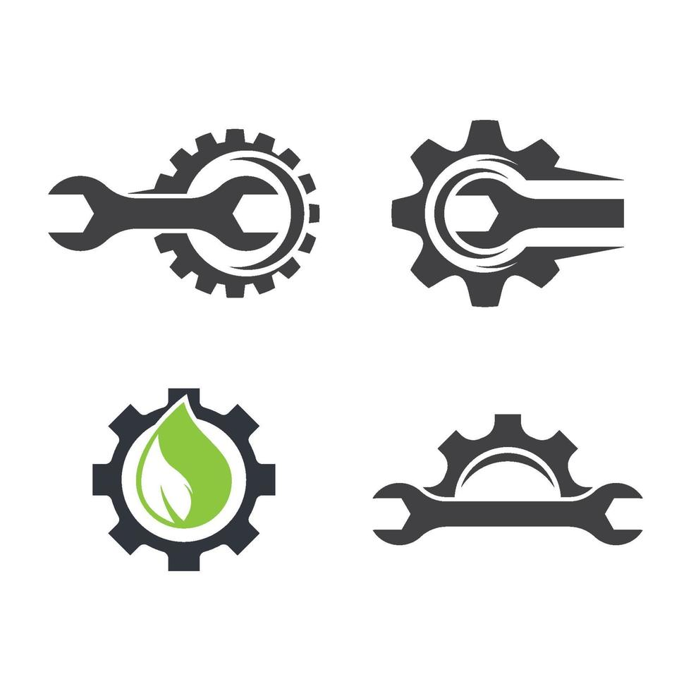 gear logo afbeeldingen vector