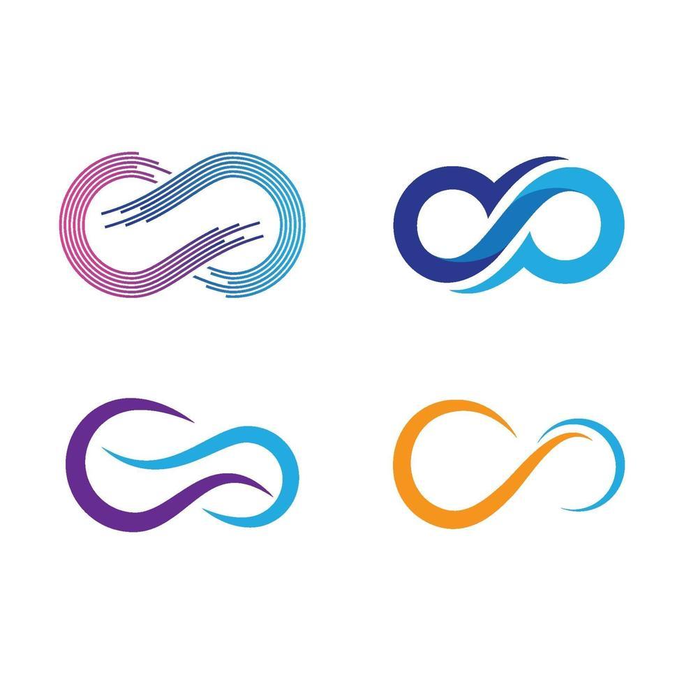 Infinity logo-afbeeldingen vector