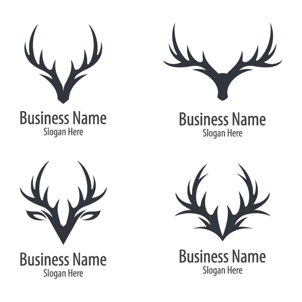 herten logo afbeeldingen illustratie vector