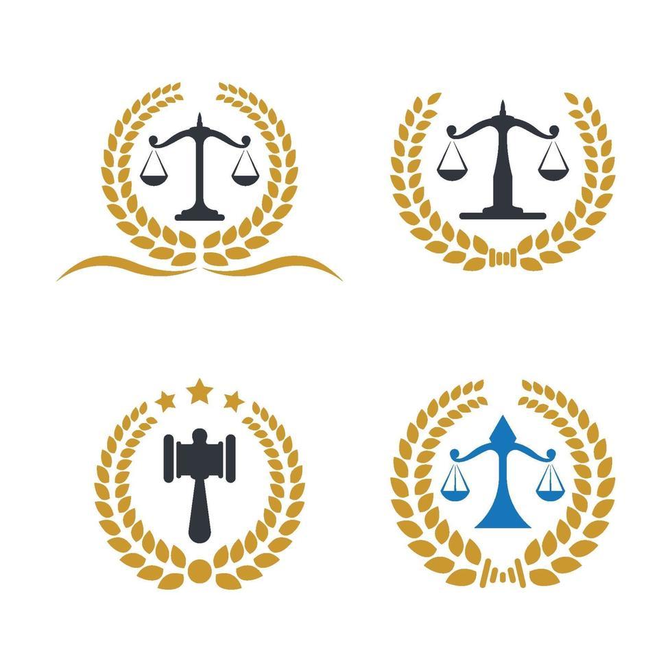 advocatenkantoor logo afbeeldingen illustratie vector