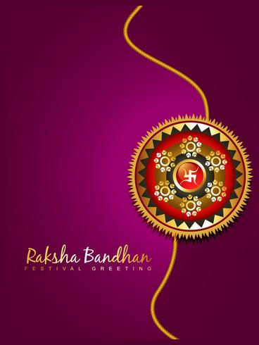 raksha bandhan festival achtergrond vector