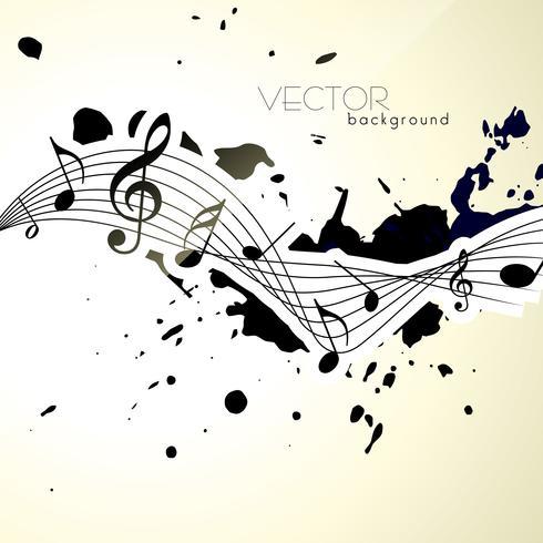 muzieknoten vector