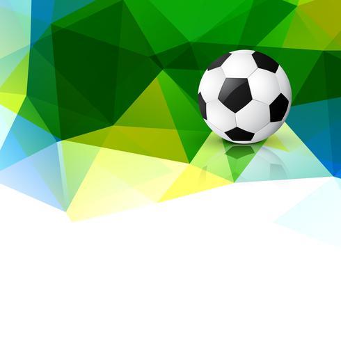 voetbal ontwerp achtergrond vector