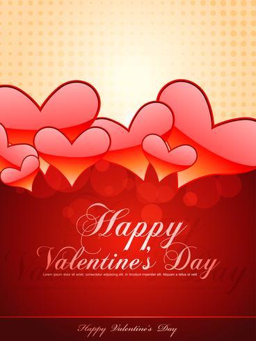 valentijn dag achtergrond vector