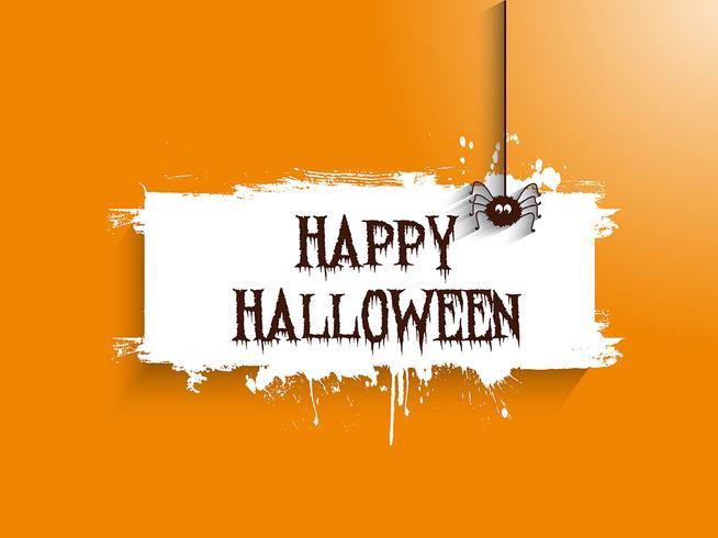 halloween spider achtergrond 2508 vector