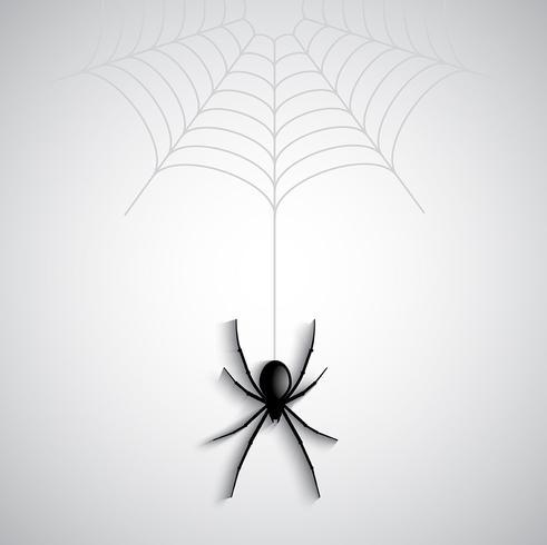 Halloween-spinachtergrond vector