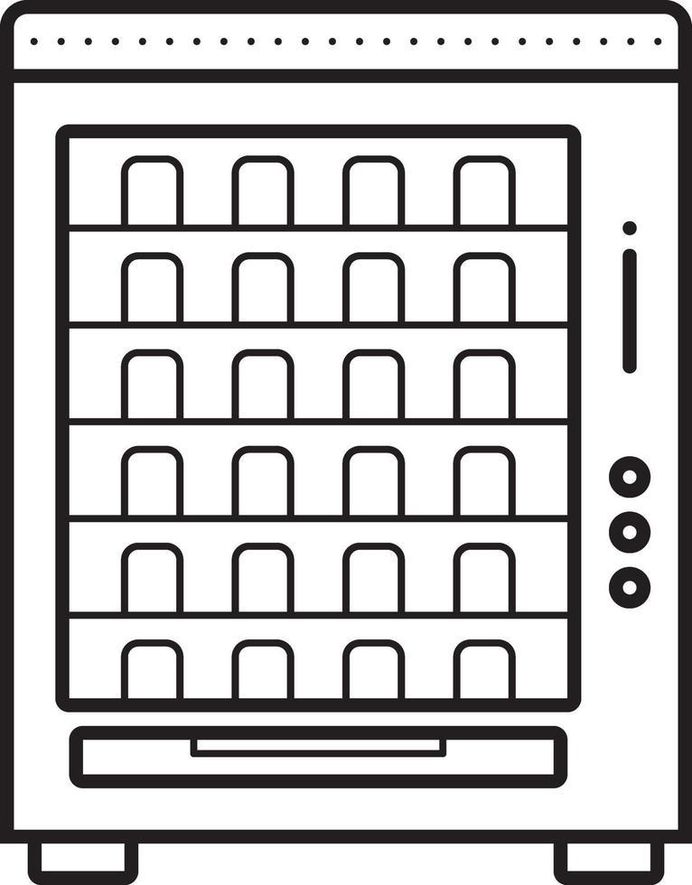 lijn pictogram voor verkoop vector
