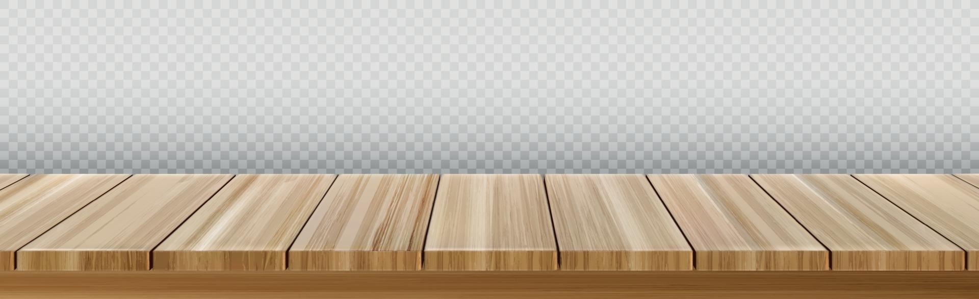 groot tafelblad, houten textuur van planken vector