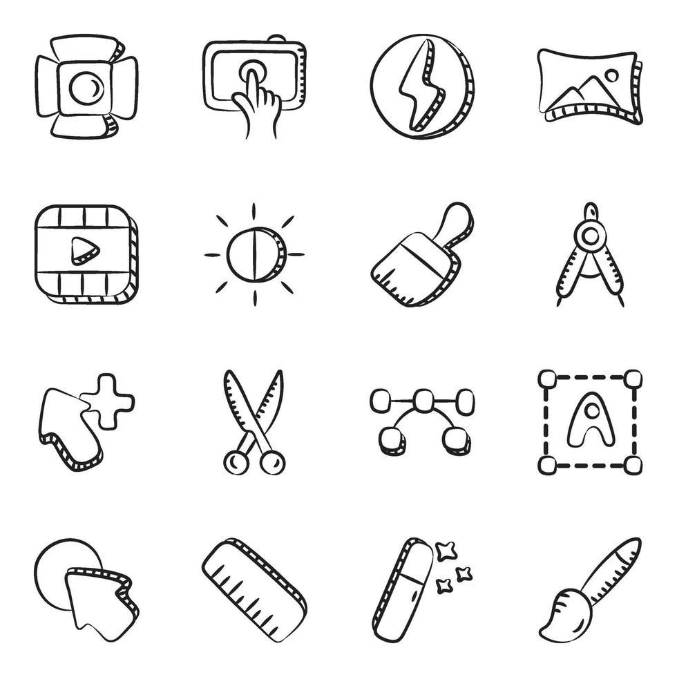digitaal ontwerpen en fotografie vector