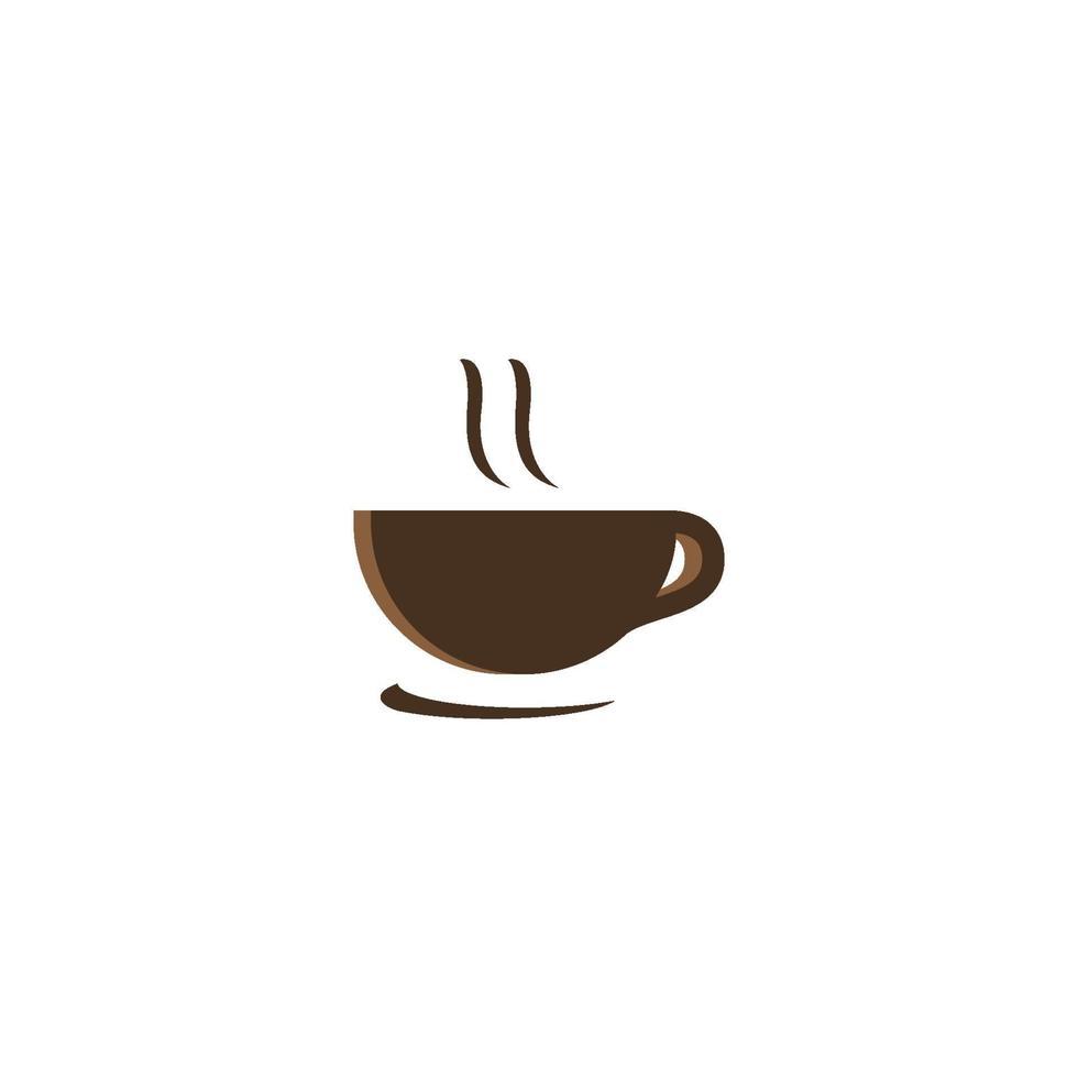 koffiekopje logo sjabloon vector pictogram ontwerp