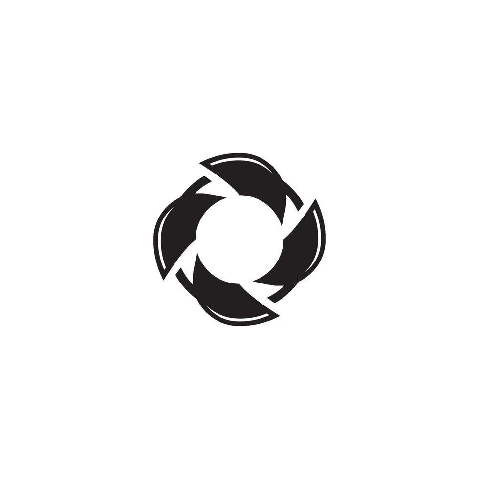 cirkel logo symbool vector sjabloon