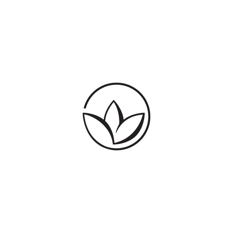 schoonheid vector lotusbloemen ontwerp logo sjabloon pictogram