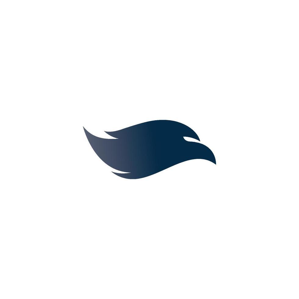 valk adelaar vogel logo sjabloon vector pictogram