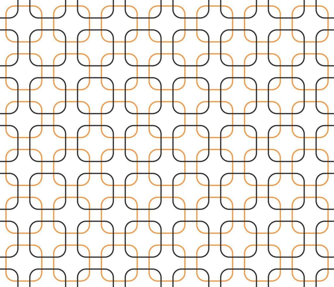 naadloze patroon vierkante geometrische vorm, het best gebruikt voor behang, achtergrond, afdrukken, huisdecoratie. vector