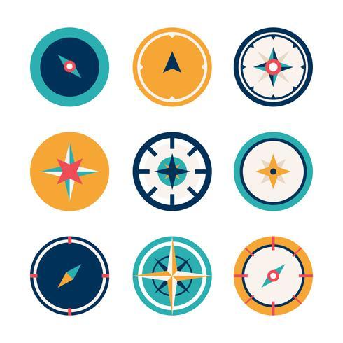Kompas vectorillustratie vector