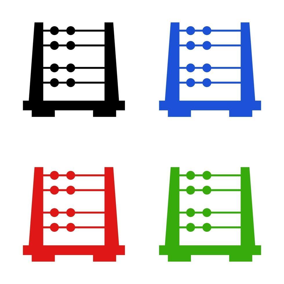 telraam pictogram op witte achtergrond vector