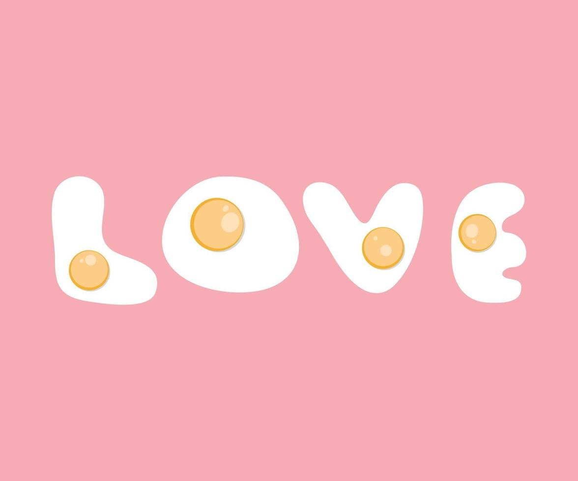 hou van gelukkige Valentijnsdag kaart, lettertype ontwerp van valentijn, trouwdag kaart van romantisch, liefdesthema. vector illustratie