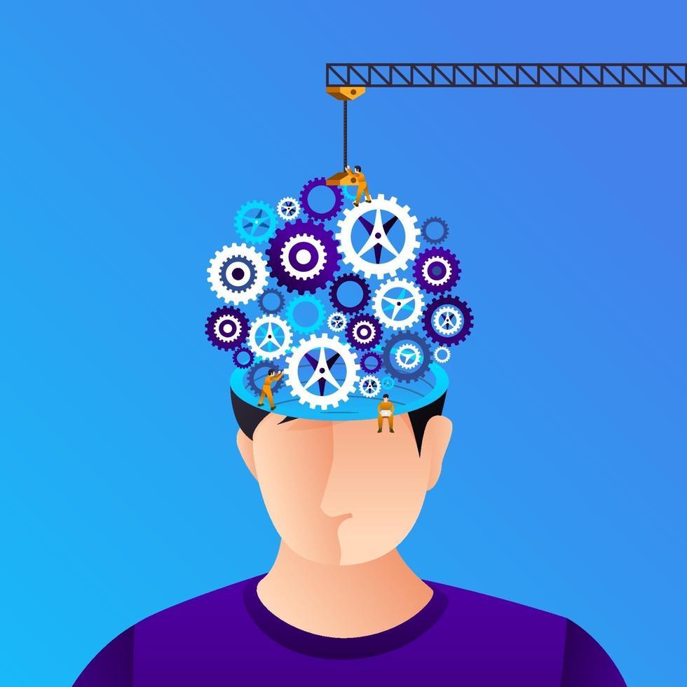 illustratie concept creatief idee vector