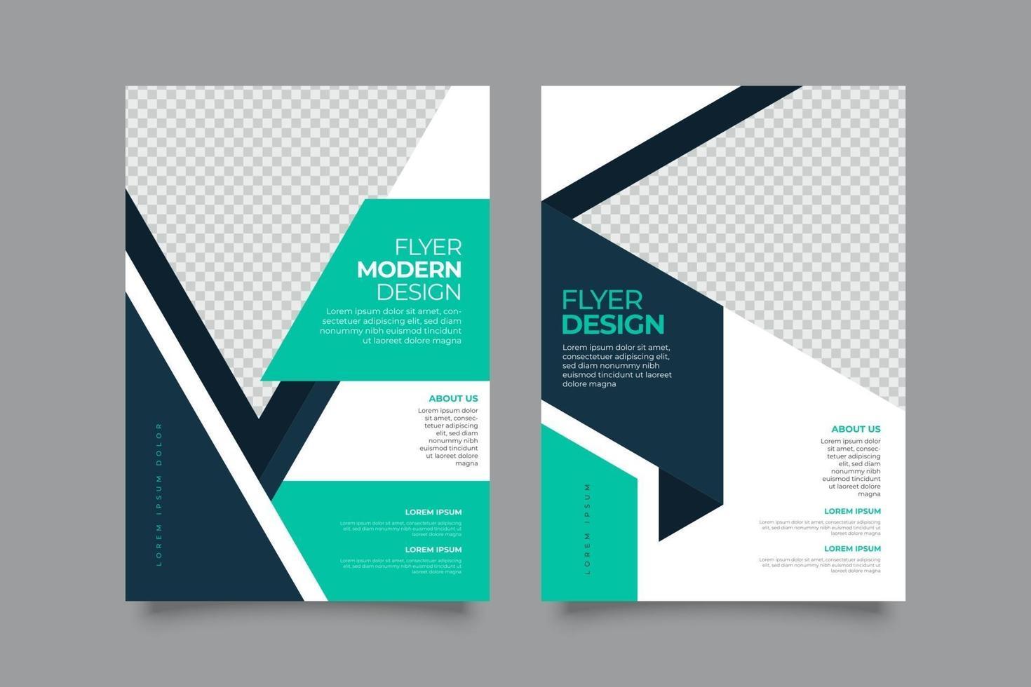webinar coole folder sjabloon met vormen vector
