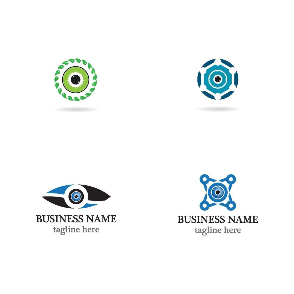 oog logo icon set vector