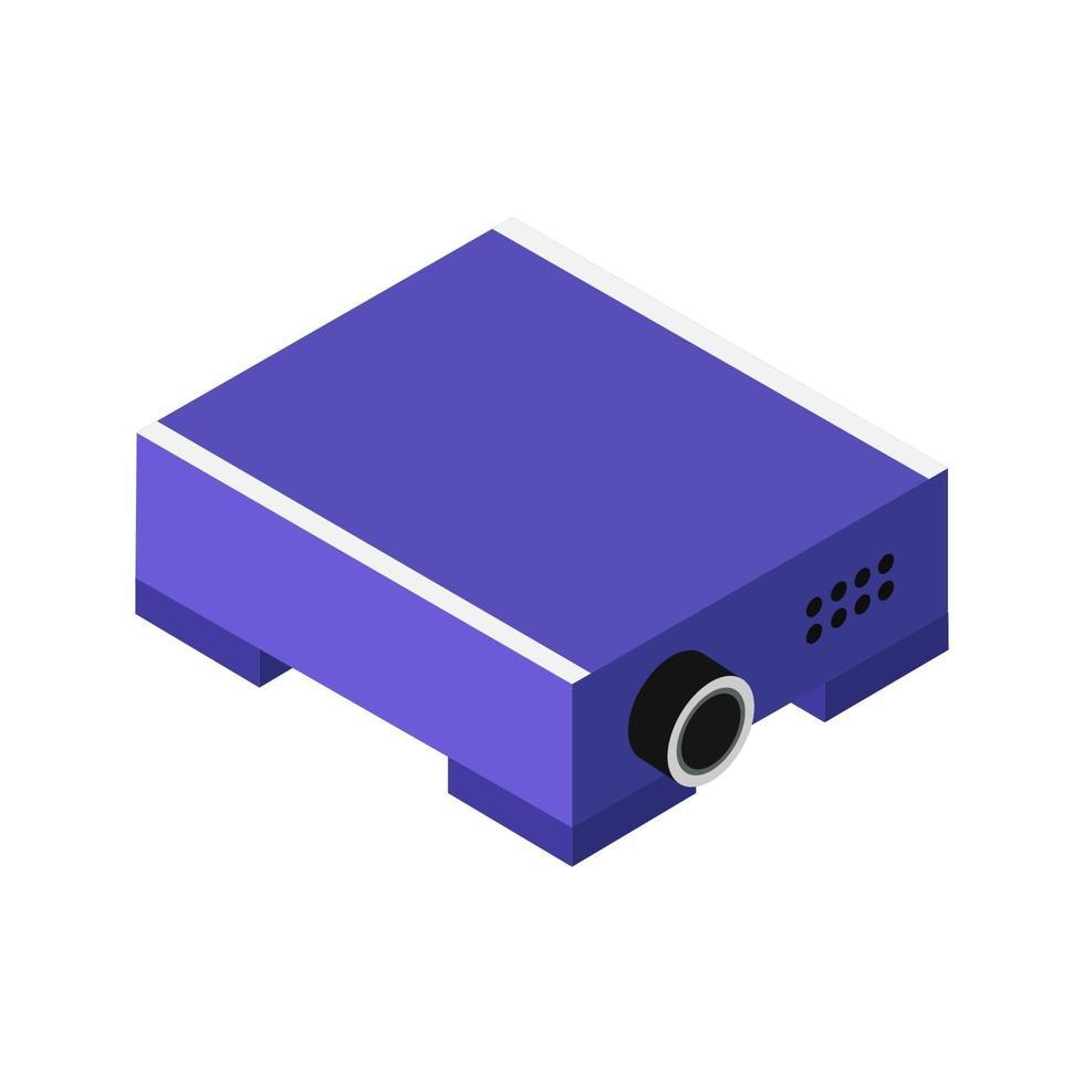 projector pictogram op de achtergrond vector