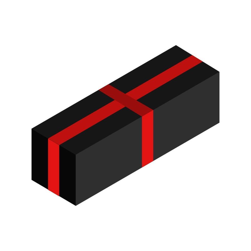 cadeau pictogram op de achtergrond vector