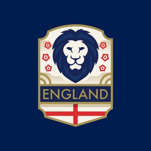 Engeland World Cup Soccer Badges vector