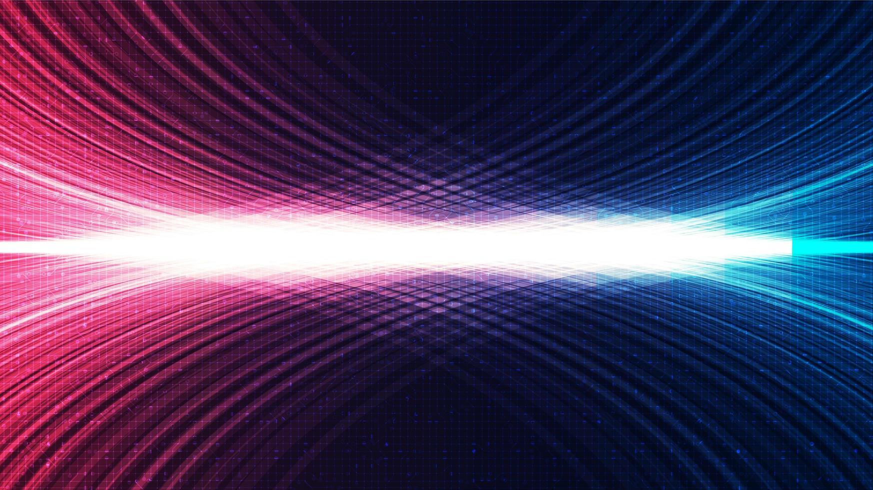 digitale lichttechnologieachtergrond, hi-tech digitaal en geluidsgolfconceptontwerp, vrije ruimte voor tekst vector