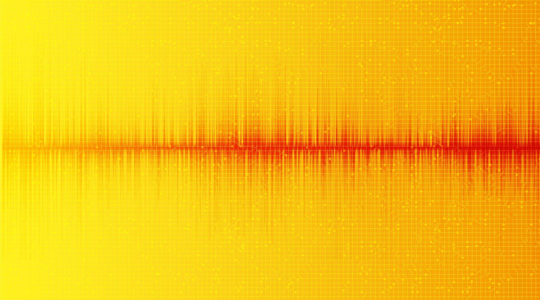 minimale geluidsgolf l vector