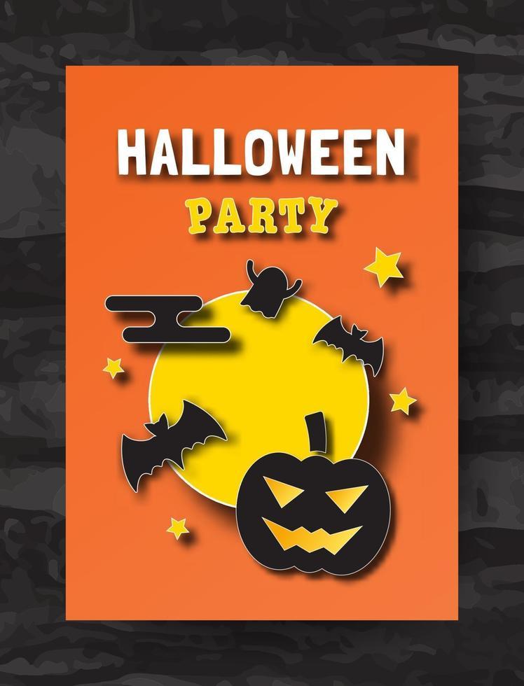 halloween poster vector ontwerp