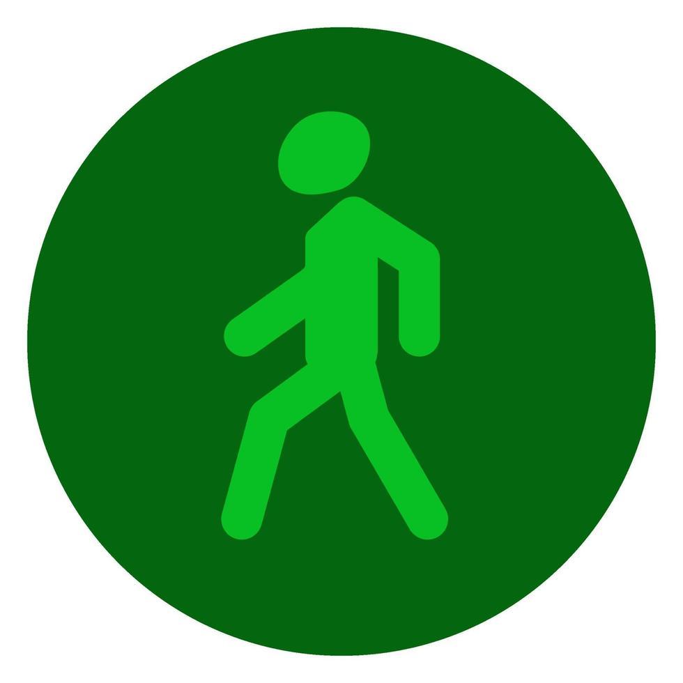 verkeerslichten groen, signaal toestaan, verkeersveiligheid vector