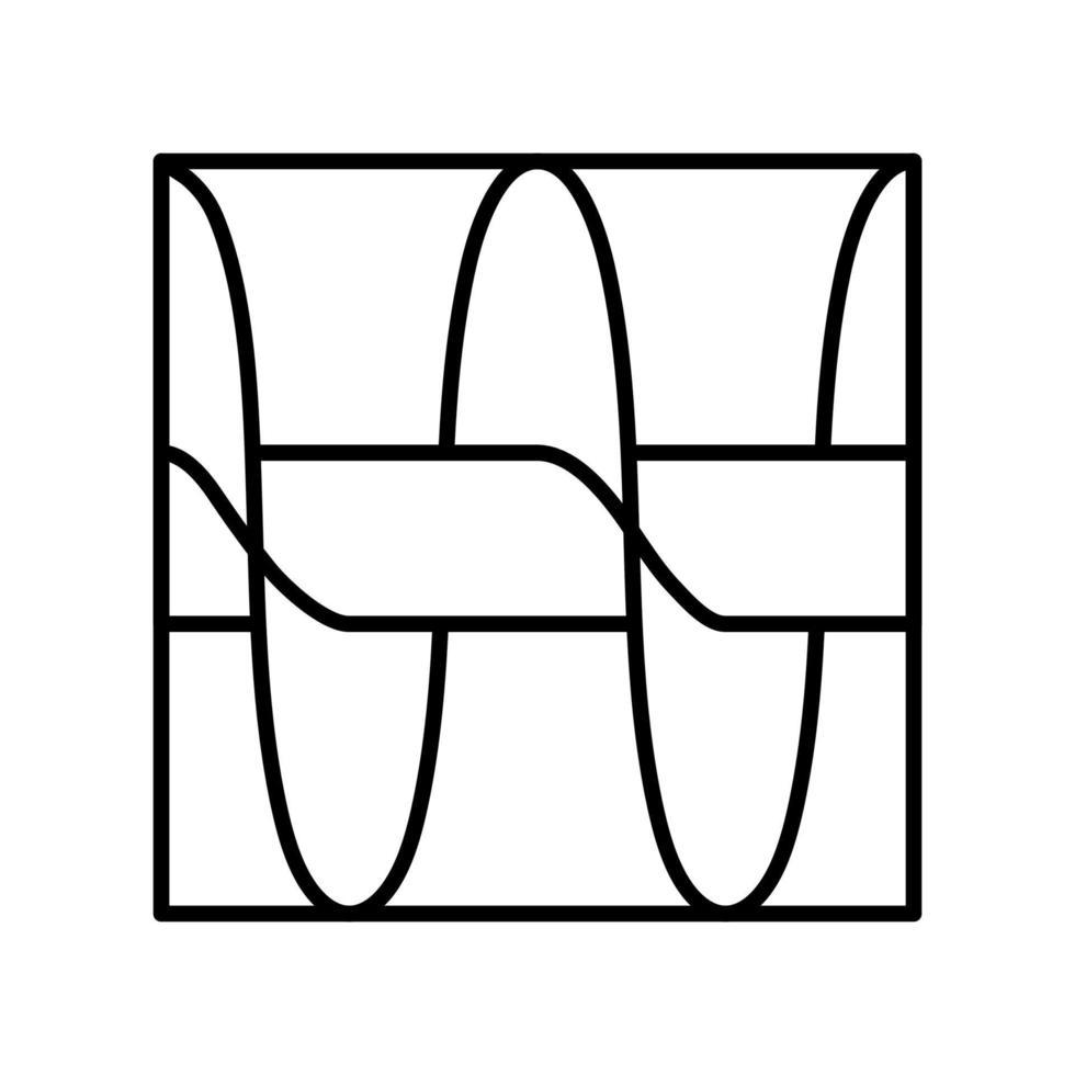 archimedes schroef overzicht pictogram. zwart-wit vector item uit set, gewijd aan wetenschap en technologie.