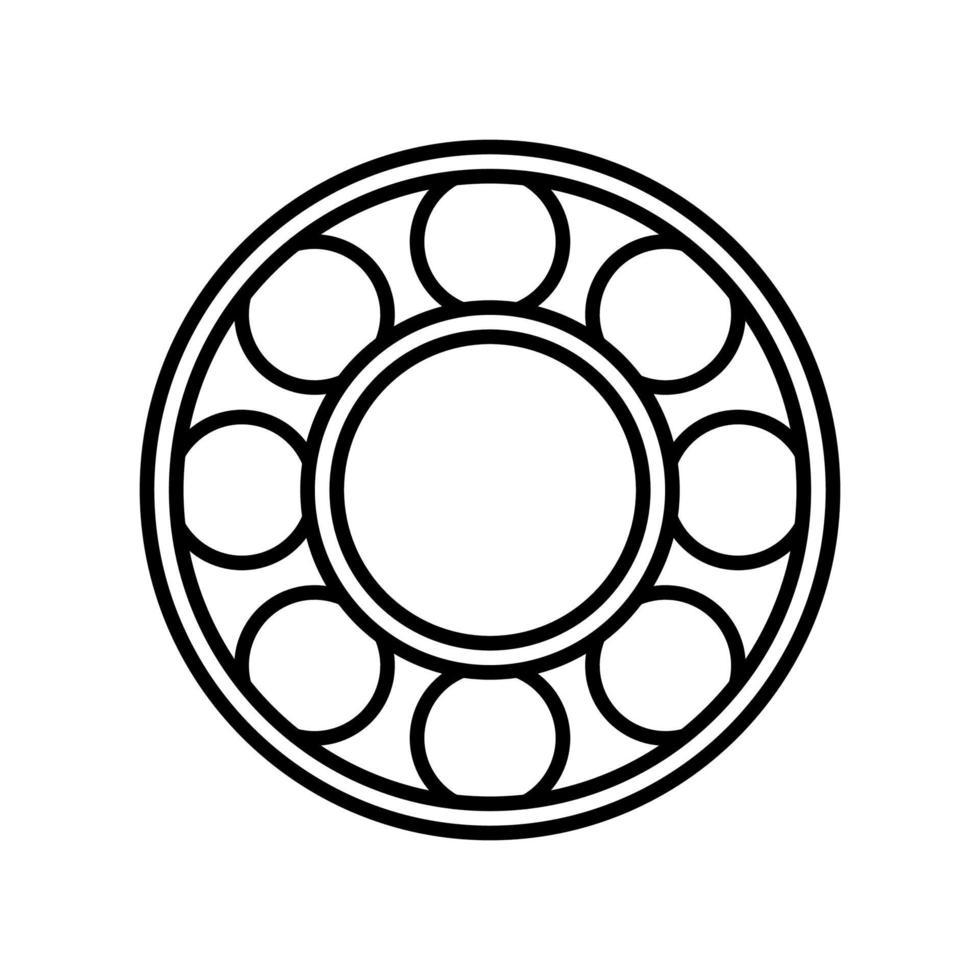 lager overzicht pictogram. zwart-wit vector item uit set, gewijd aan wetenschap en technologie.
