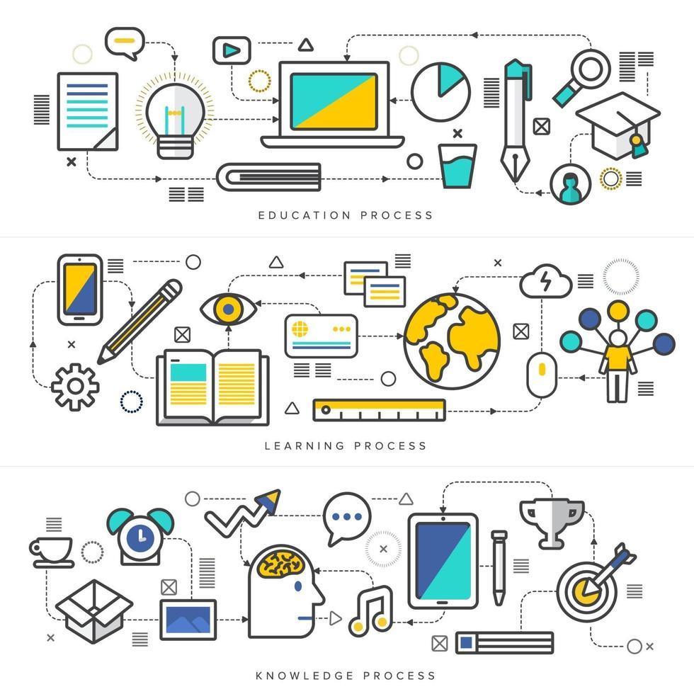 digitale marketingbanner vector