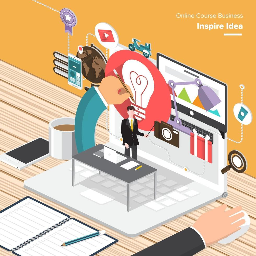 digitale marketing illustraties vector