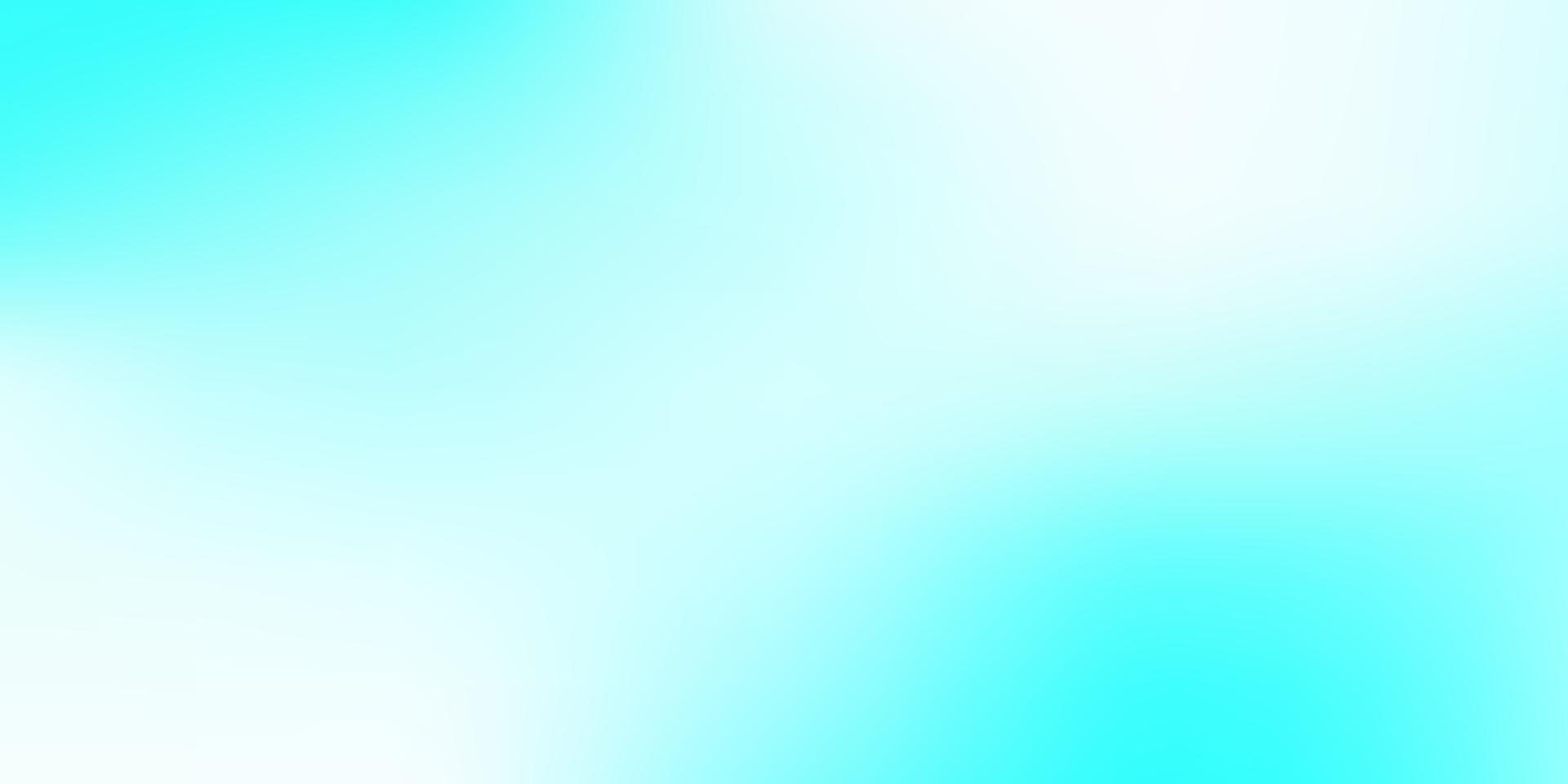 lichtblauwe, groene vector abstracte achtergrond wazig.