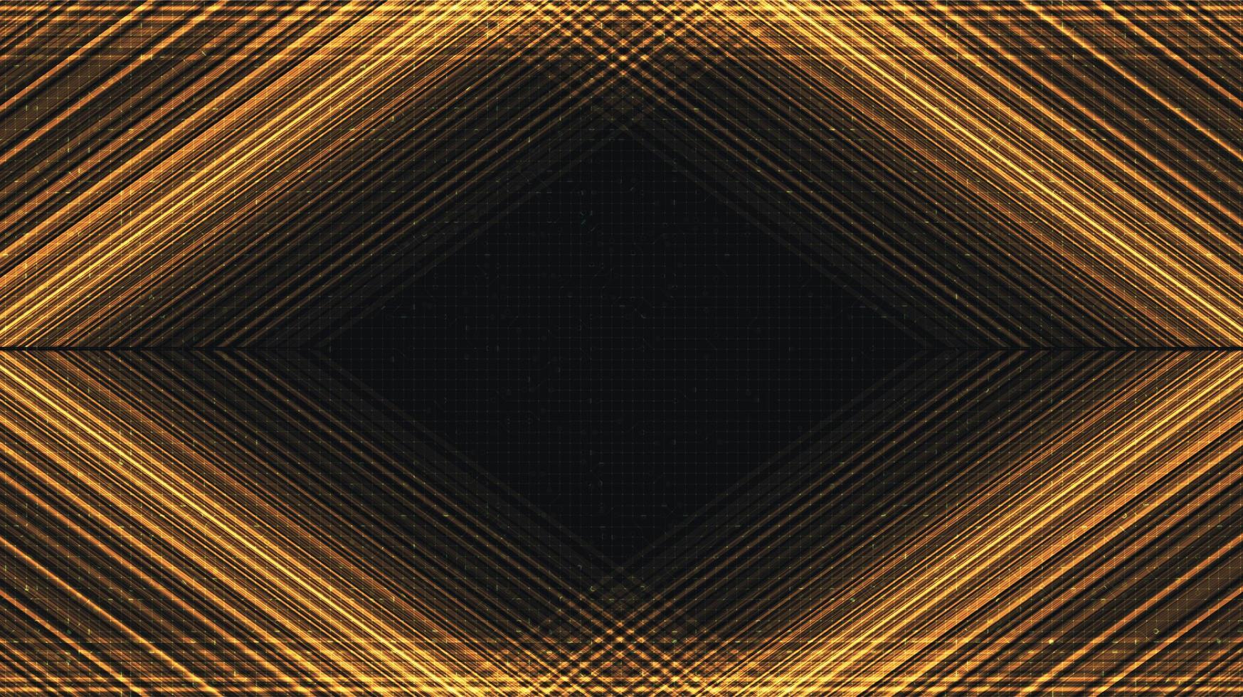 moderne gouden technologieachtergrond, digitaal en verbindingsconceptontwerp, vectorillustratie. vector
