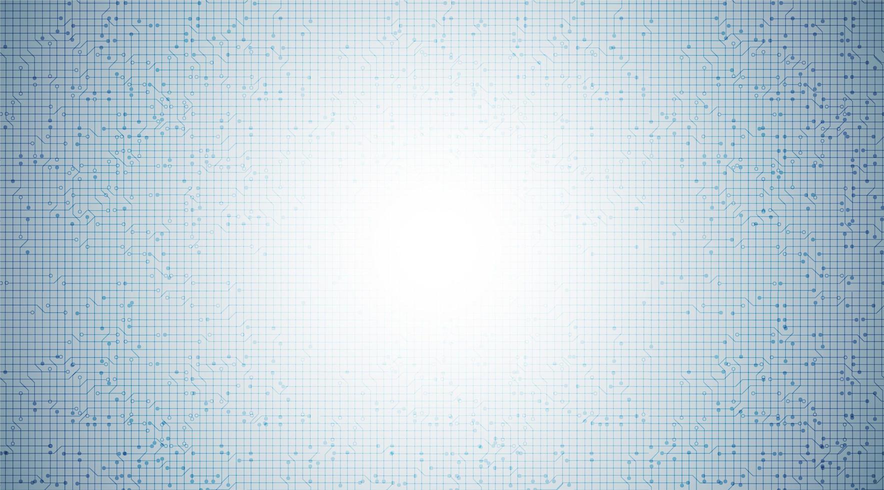 lichtcircuitmicrochip op technische achtergrond, hi-tech digitaal en communicatie conceptontwerp, vrije ruimte voor ingevoerde tekst, vectorillustratie. vector