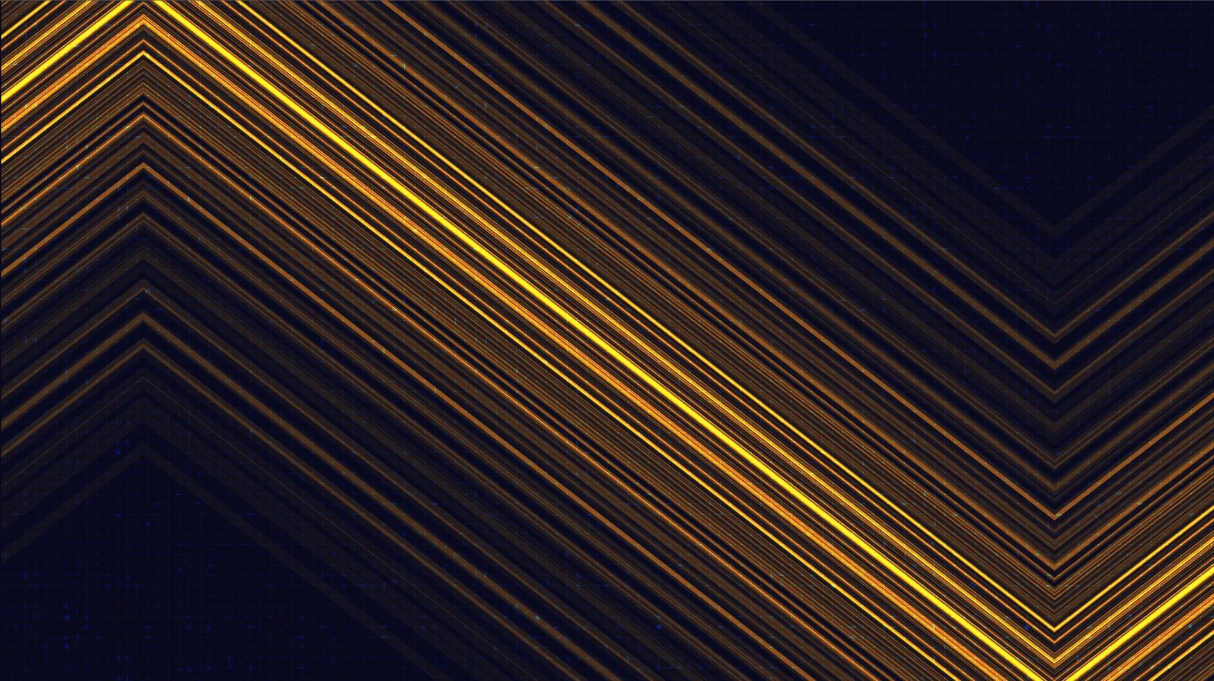 elektronische gouden technologieachtergrond, digitaal en verbindingsconceptontwerp, vectorillustratie. vector