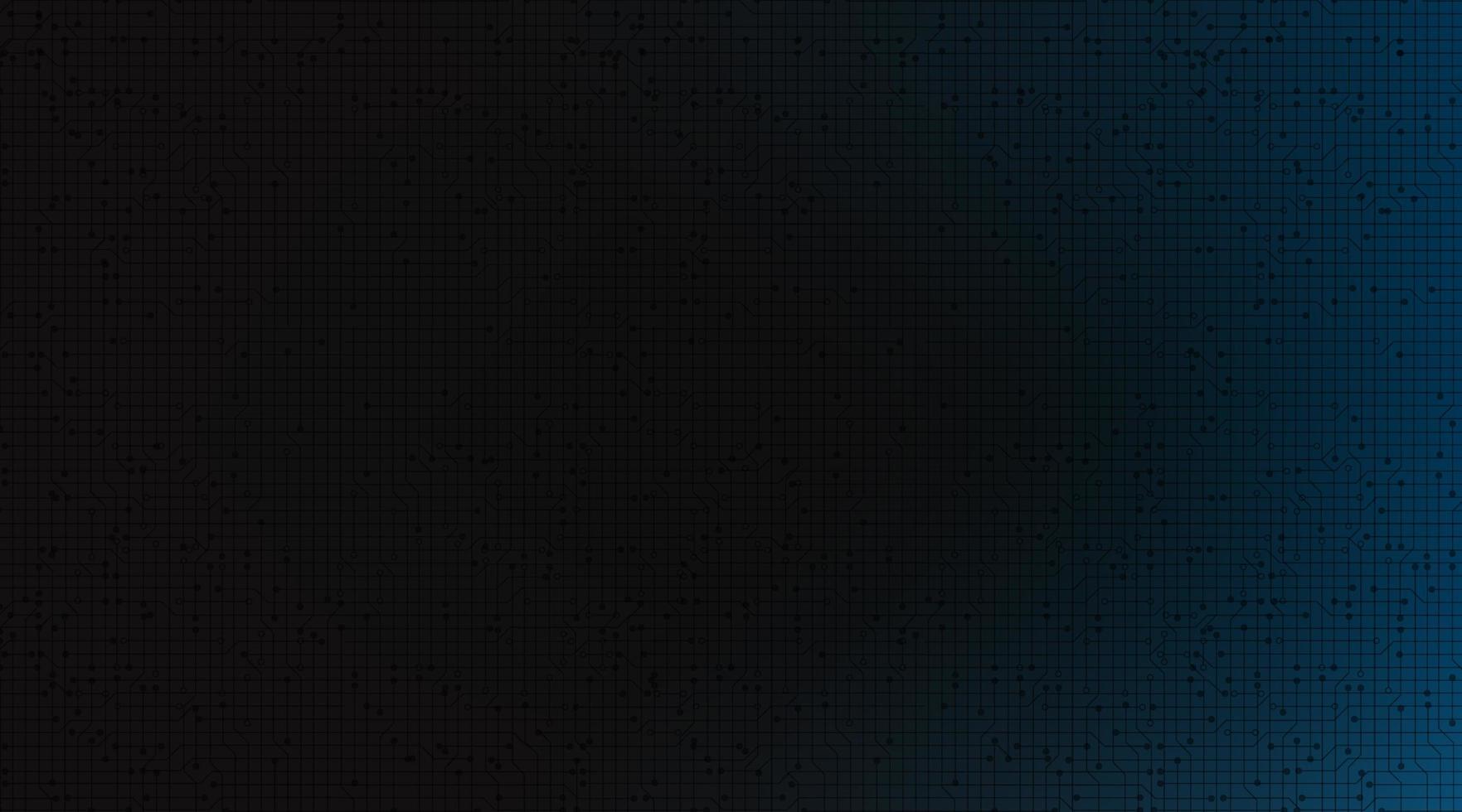 donkerblauwe technologieachtergrond, hi-tech digitaal en communicatieconceptontwerp, vrije ruimte voor ingevoerde tekst, vectorillustratie. vector