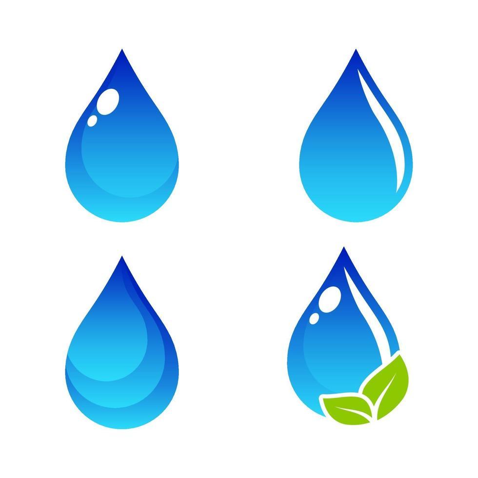 waterdruppel pictogram vector