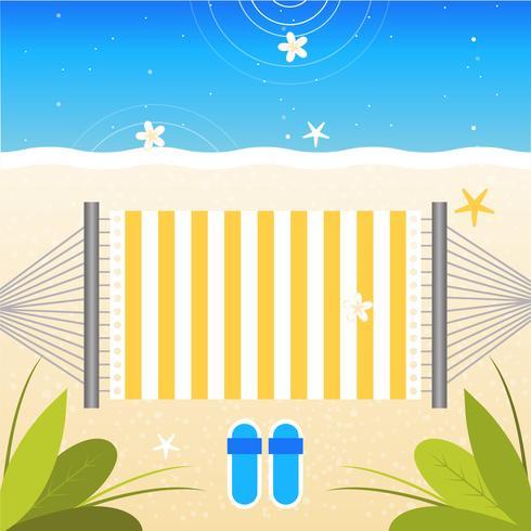 Vector mooie zomer illustratie